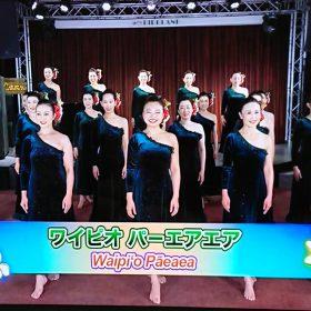 ナーレイレイコフラスタジオ/TV出演、放映されました!!